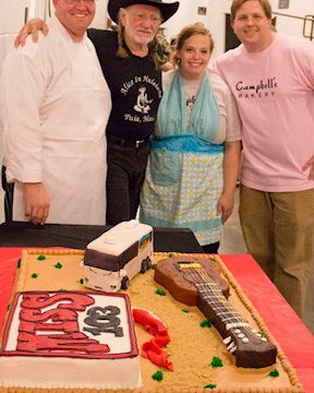 Tradition Meets Legend: A Cake for Willie