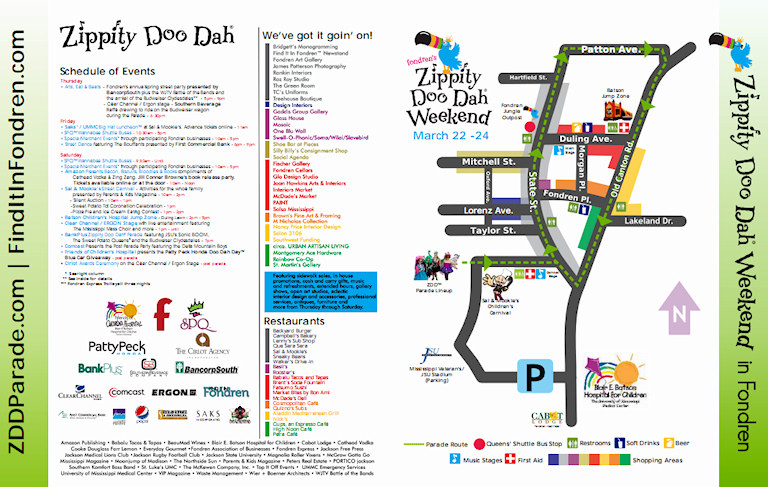 Printable ZDD™ Map and Schedule | Find It In Fondren ... on signs map of, blank map of, worksheets map of, easy map of, travel map of, food map of, color map of, pinterest map of, online map of,