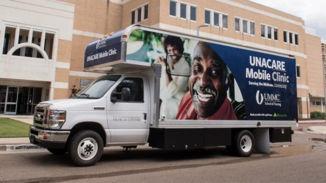 UNACARE Mobile Clinic Takes Care to Midtown