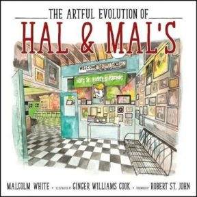 "Signing of ""The Artful Evolution of Hal and Mal's"" by Malcolm White and Ginger Williams Cook"