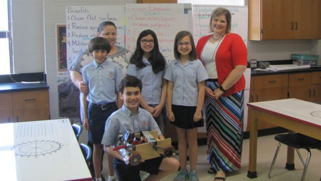 St. Richards Among Finalists in STEM Competition