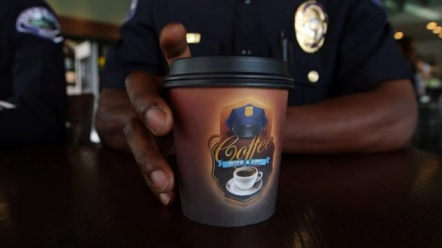 'Coffee With a Cop' Brings Community, Police Together