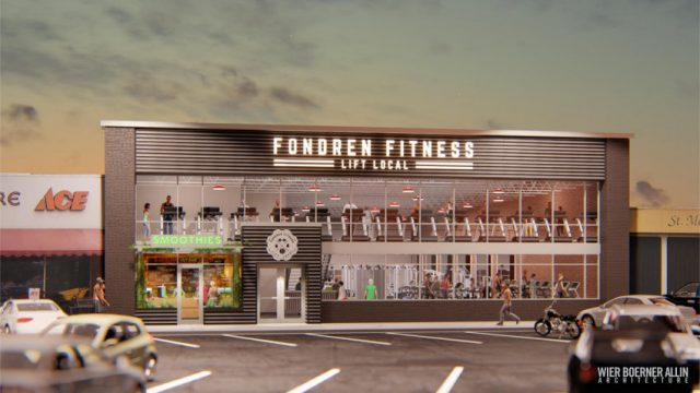 Rainbow Building to Become Fondren Fitness