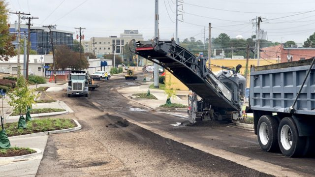 Duling, Fondren Place Repaved