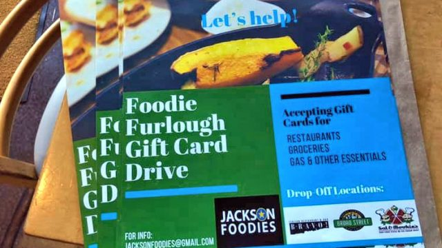 Group Seeks Gift Cards for Furloughed Workers