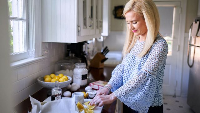 In a Petite Southern Kitchen: Hayden Jordan